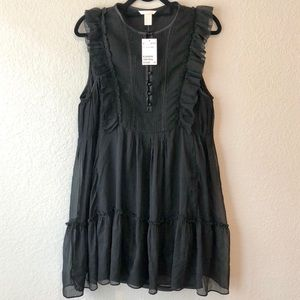 H&M Sleeveless Babydoll Dress